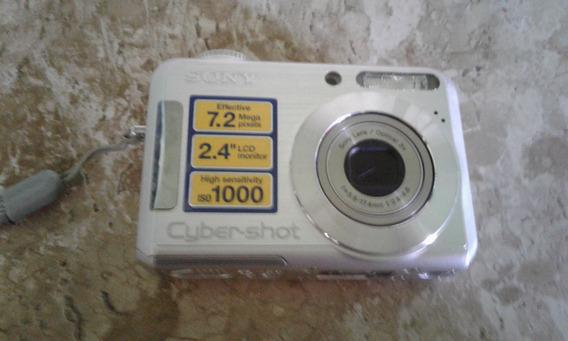 Camera Cyber-shot Sony Dsc-s700 Com Todos Acessorios