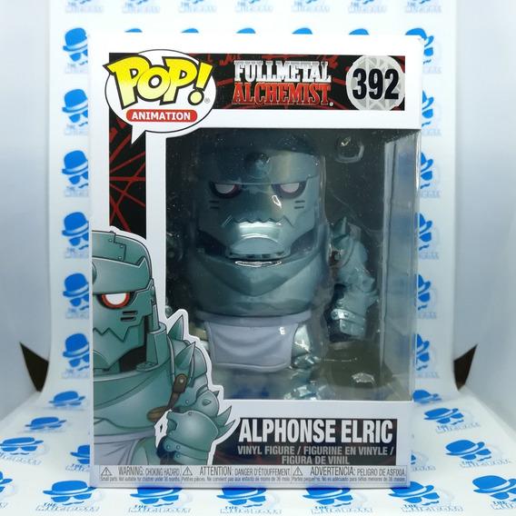 Alphonse Elric Funko Pop De Fullmetal Alchemist