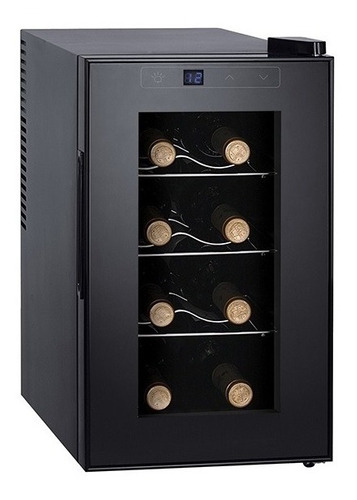 Enfriadora De Vinos Punktal 8 Botellas Pk-ev8l