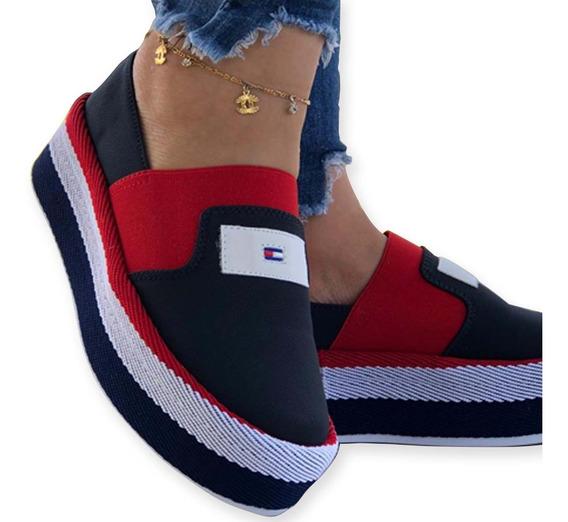 Zapatos Tommy Casuales Dama Colombianos Mocasinos A La Moda