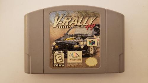 Imagen 1 de 2 de Juego V Rally Edición 99 Videojuego Consola Nintendo 64