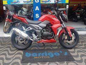 Dafra Next 250cc Com Manual E Chave Reserva 2013 Vermelha