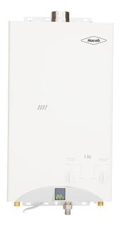 Calentador A Gas De Paso Haceb 13lt Tf Gn Auto Color Blanco