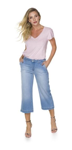 Calça Feminina London Pantacourt Index - 9681004557