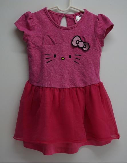 Vestido Niña Kitty 3 Años - Vestido Rosa Casual