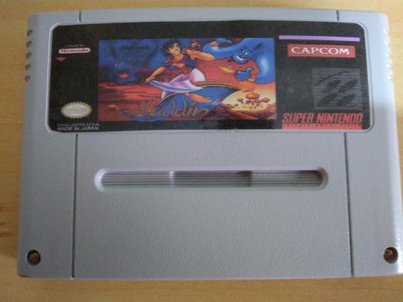 Aladdin Repro Em Inglês Placa Original Super Nintendo Snes