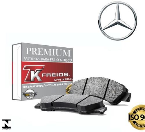Imagem 1 de 3 de Kit Pastilha Freio Dianteira Traseira Mercedes Sprinter 415