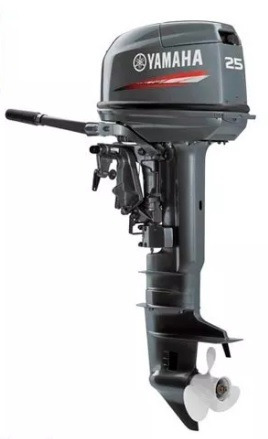 Imagen 1 de 5 de Motor Yamaha 25 Hp 2 2 Tiempos