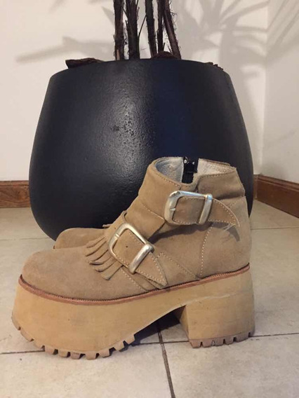 Botas Color Camel T 38
