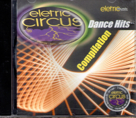 Cd Eletric Circus Dance Hits Compilation