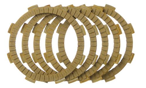 Imagem 1 de 2 de Discos Embreagem Oem Ji 5 Pecas Cg 150