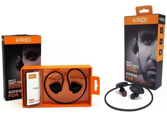 Fone De Ouvido Sports Bluetooth Sem Fio Som Wireless Kd-908