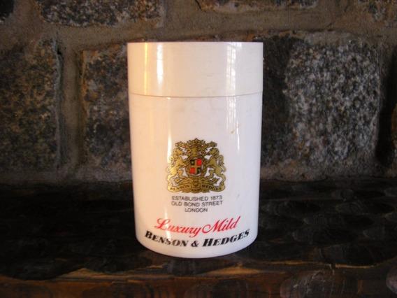 Envase Plastico Cigarrillos Benson & Hedges 50