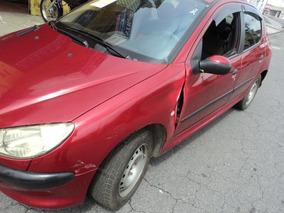 Peugeot 206 1.0 16v Soleil 2003 Gasolina ((((( Sucata ))))))