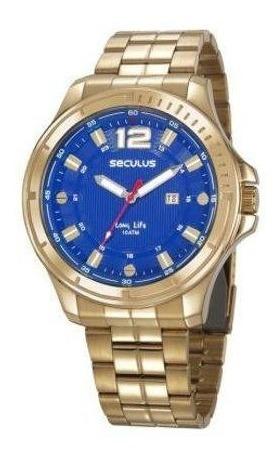 Relógio Seculus 23636gpsvda1 /100 Metros / 10atm Com Nf