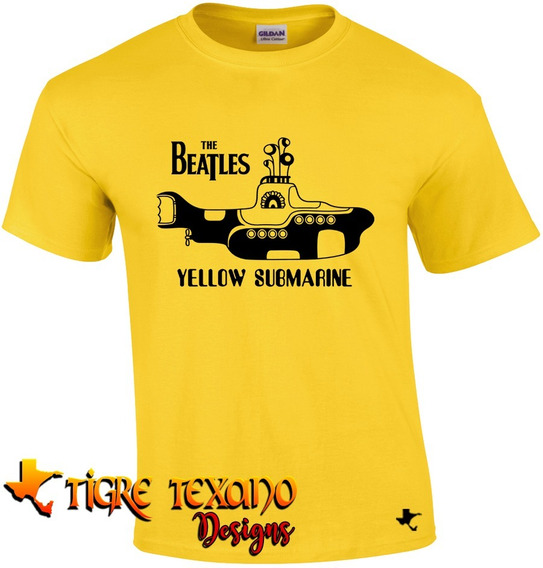 Playera Bandas The Beatles Mod. 06 By Tigre Texano Designs