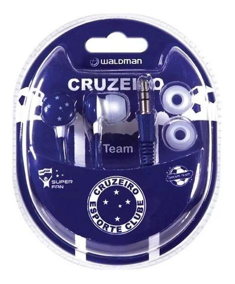 Fone De Ouvido Waldman Sf10 In-ear Time Cruzeiro
