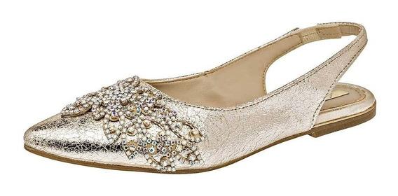 Zapato De Piso Dama Lady One Nw-2055 Oro 24-25 084-372 T4