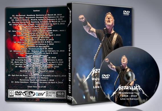 Dvd Metallica - Live In Europe 2018 -2019
