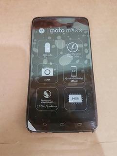 Tela Completa Motorola Moto Maxx Xt1225 100 % Funcionando