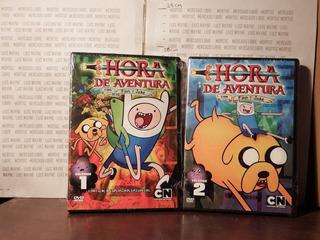 Temporada 1 Dvd Hora Aventura Adventure Time Finn Completa