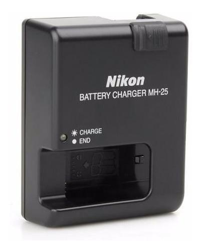 Carregador De Bateria Nikon Mh-25 En-el15 D7000 D800 D800e
