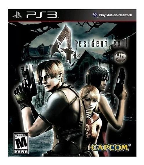 Resident Evil 4 Ps3 Hd Psn Midia Digital