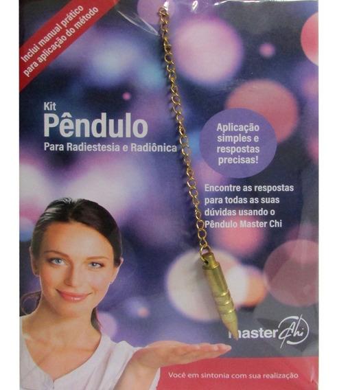 Kit Pêndulo Para Radiestesia E Radiônica - Manual+pêndulo+gr