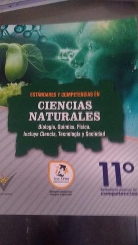 Imagen 1 de 2 de Libro De Naturaleza Y Física Para Practicar La Icfes Grado11