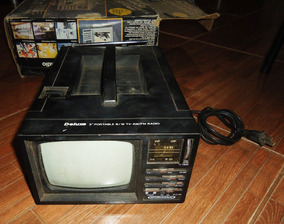 Tv Deluxe Portable International Ct-864