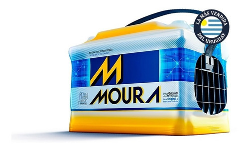 Bateria Moura M50jr 80a Chery Qq New