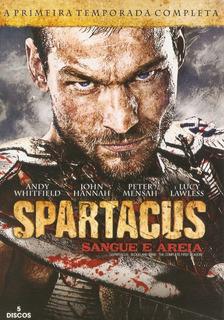 Box 5 Discos Spartacus - Sangue E Areia - 1° Temporada