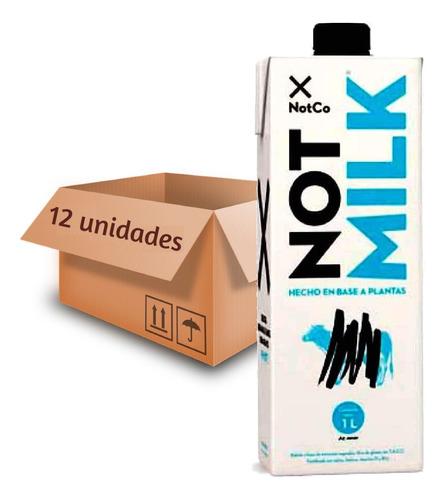 Imagem 1 de 4 de 12x Leite Vegetal Not Milk Semi Desnatado 1l