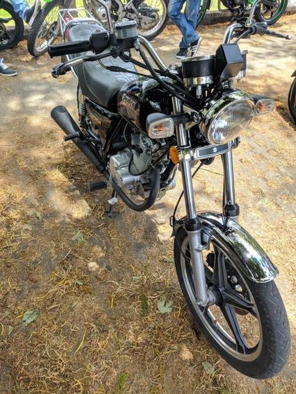 Suzuki Gn 125 Negra