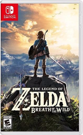 The Legend Of Zelda Breath Of The Wild Mídia Física Switch