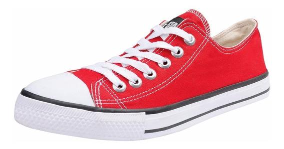 Tênis Converse All Star Chuck Taylor Ox Baixo Vermelho