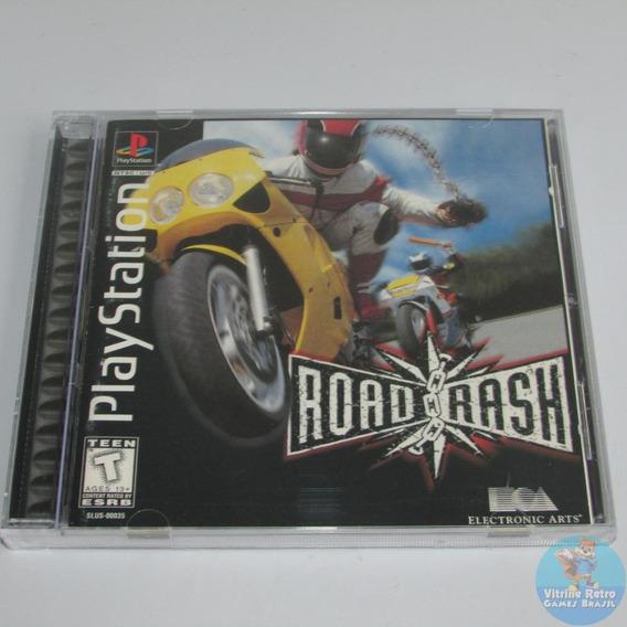 Ps1 Road Rash Original Americano Completo Black Label +++