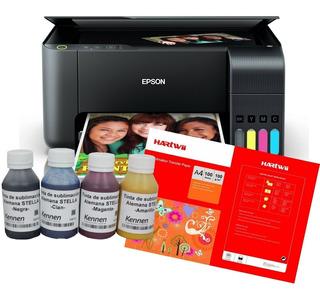 Impresora Epson L3150 Tinta Sublimación Alemana +papel L4150