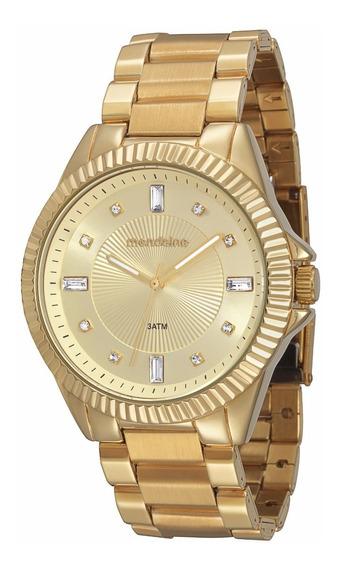 Relógio Mondaine Feminino Glamour 76309lpmfde1 Gold