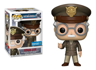 Funko Pop Marvel Captain America Stan Lee (282)