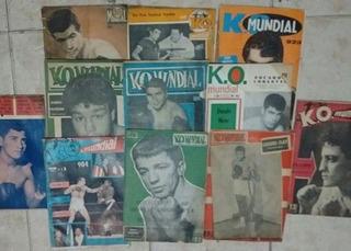 Revista K. O. Mundial Lote De 11 Ejemplares