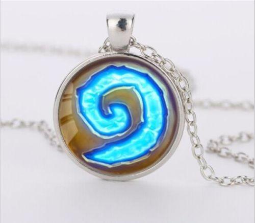 Colar Hearthstone Wow World Of Warcraft Pedra