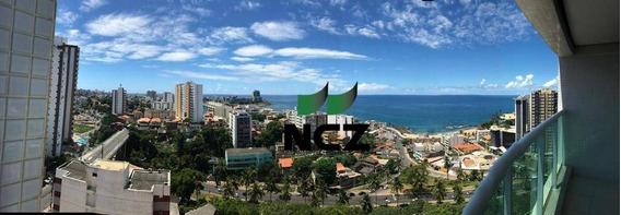 Flat Para Locação , 49 M² Por R$ 2.600/mês - Rio Vermelho - Salvador/ba - Fl0016