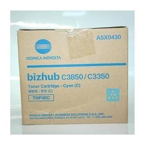 Imagen 1 de 1 de Cartucho Original Konica Tnp-48c Bizhub C3350 C3850 C3850fs