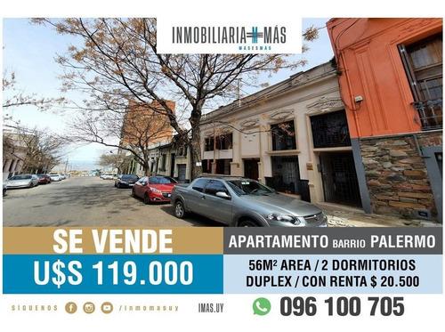 Imagen 1 de 15 de Apartamento Venta Palermo Montevideo Imas.uy S *