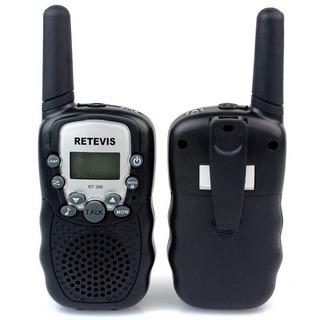 Walkie Talkie Radio Comunicador T338 Retevis Black