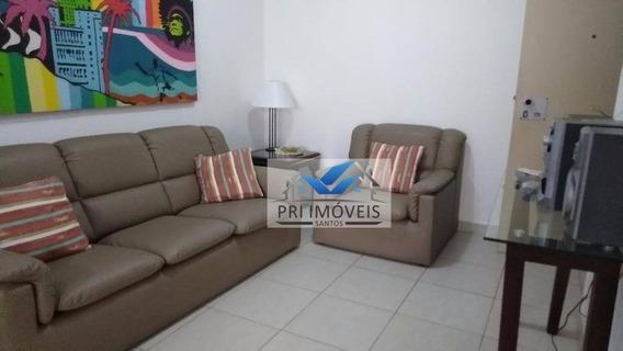 Flat À Venda, 67 M² Por R$ 530.000,00 - Centro - Guarujá/sp - Fl0002