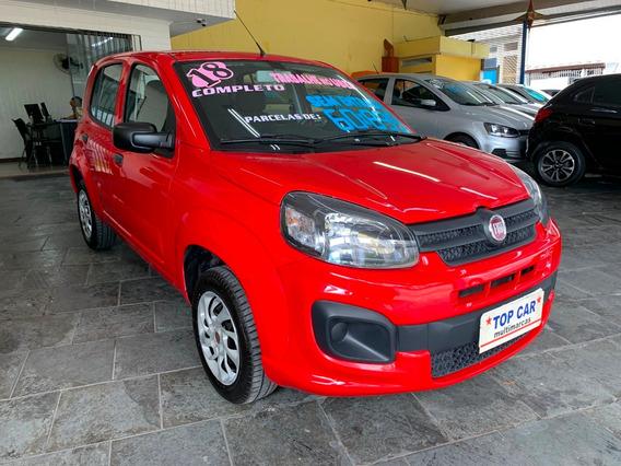 Fiat - Uno Drive Completo 1.0 2018 - Sem Entrada
