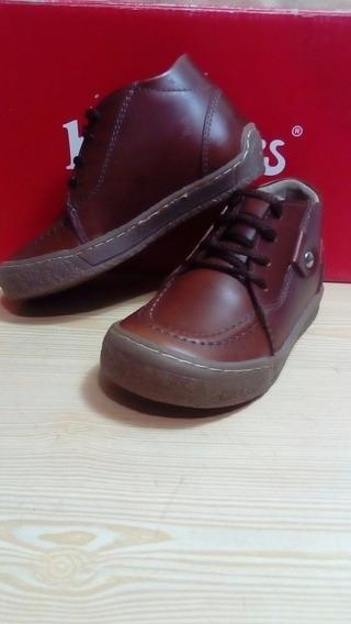 Zapatos Kickers Botines Niño Talla 24 (25verdes)