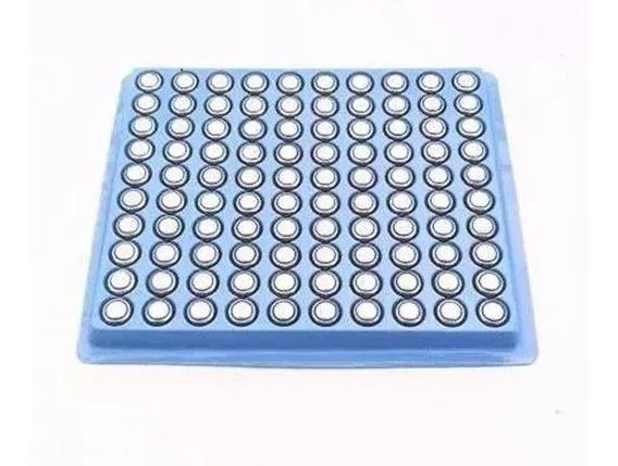 Cartela Com 100 Baterias Ag3/ G3/ Lr41/ Lr376 (1.5v 33mah)